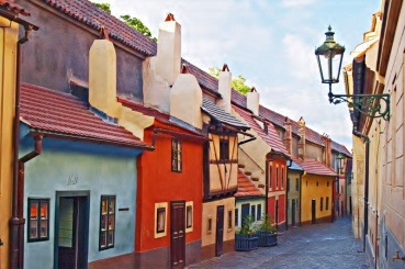 Golden-Lane-Prague-castle